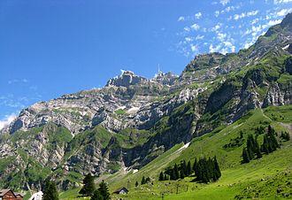 Appenzell Alps - Image: Säntis 02