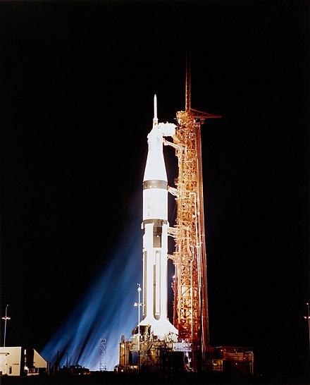 apollo 7 launch