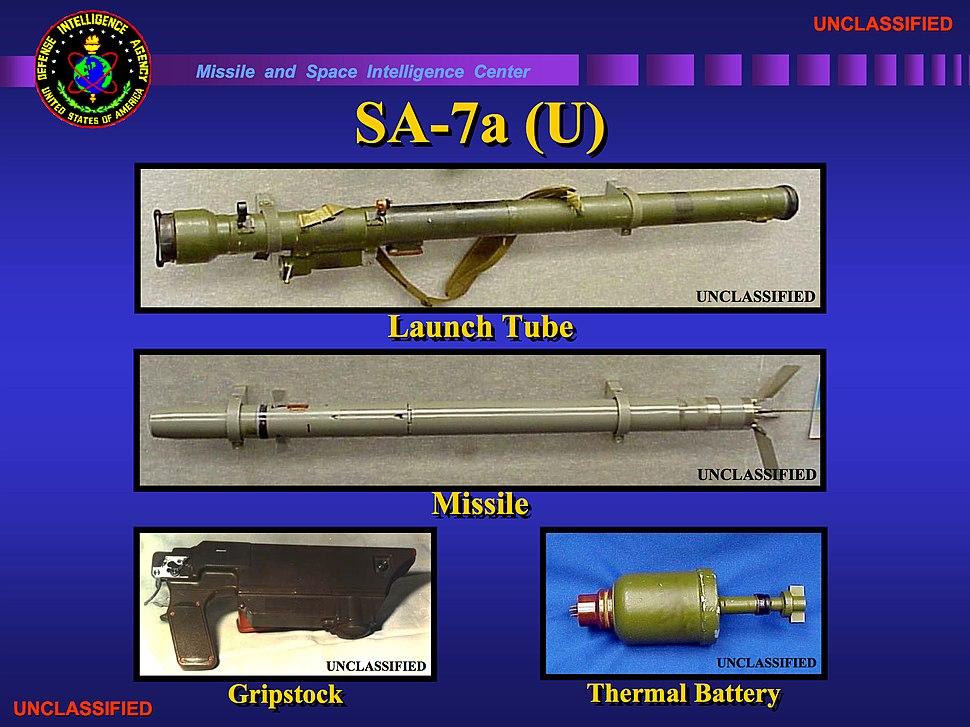 SA-7a components