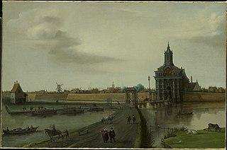 The Haarlemmerpoort in Amsterdam