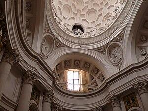 San Carlo alle Quattro Fontane (Rome), Borromini