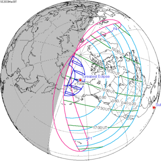Solar eclipse of March 30, 2033