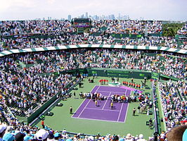Tennisstadion in Crandon Park