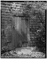 SOUTH DOOR TO BARN SECTION - Old Jail, State Route 6A and Old Jail Lane, Barnstable, Barnstable County, MA HABS MASS,1-BAR,3-3.tif
