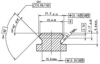 """NATO Accessory Rail - Image: STANAG 4694 """"NATO Accessory Rail"""" 1"""