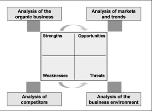 Figure 10: SWOT-Analysis of the organic busine...