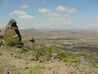 Sheikh, Somaliland - The countryside between Sheikh and Berbera.