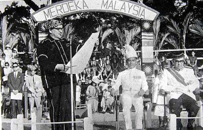 Sabah during the formation of Malaysia (16 September 1963)