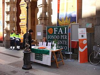 Fondo Ambiente Italiano - Image: Sabato 5 aprile 2008 foto di Tony Frisina DSC06039