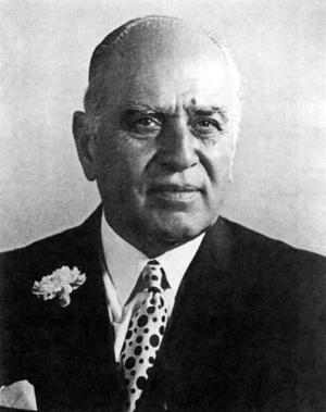 Saeb Salam - Formal photograph of Saeb Salam