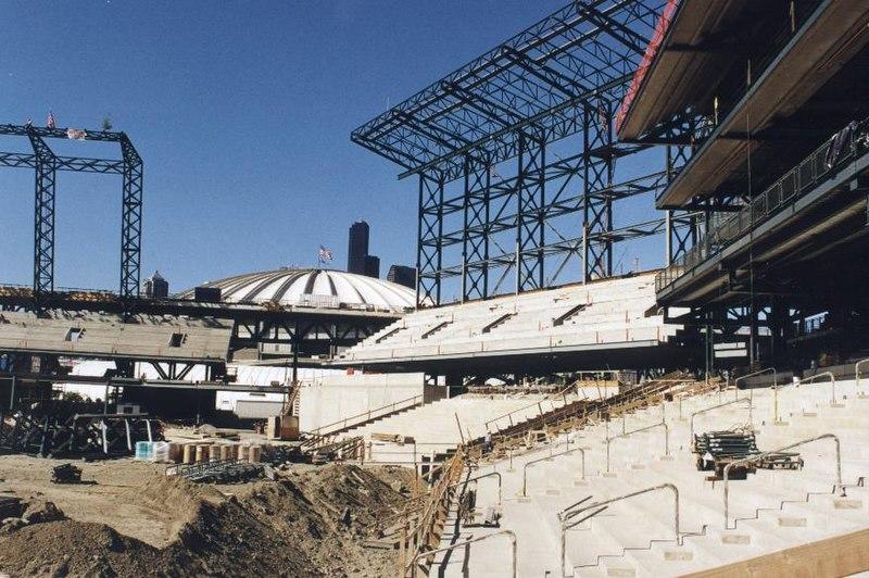 Safeco Field under construction - 1998.jpg