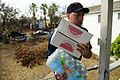 Sailors distribute basic needs during food convoy in Galveston DVIDS117371.jpg