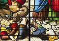 Saint-Chapelle de Vincennes - Baie 3 - Les deux témoins, détail de la Bête et du couple au sol (bgw17 0822).jpg