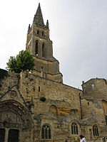 Monolithic church of Saint-Émilion and its bell tower