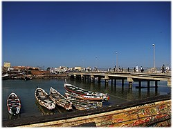 Saint-Louis,Senegal. Bridge. Guet Ndar.jpg