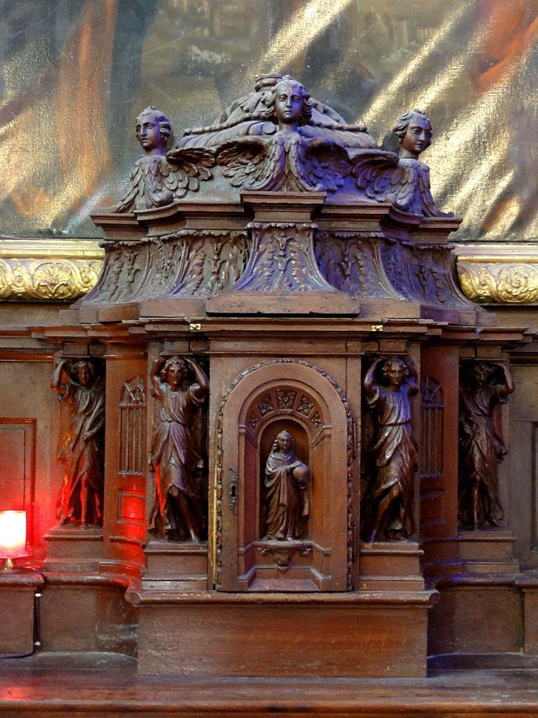 fichier saint prix 95 glise saint prix retable du ma tre autel tabernacle jpg wikip dia. Black Bedroom Furniture Sets. Home Design Ideas
