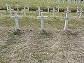 Saint-Rémy-la-Calonne (Meuse) nécropole nationale (06) trois tombes de la compagnie d'Alain-Fournier.JPG