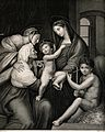 Saint Mary (the Blessed Virgin) with the Christ Child, Saint Wellcome V0033983.jpg
