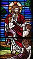 Saint Mary of the Presentation Catholic Church (Geneva, Indiana) - stained glass, Christ and the Children, detail.jpg