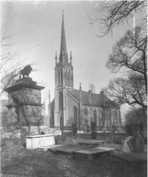 St. Matthew's United Church (Halifax) - Saint Matthew's Church, Barrington Street, Halifax, c. 1900