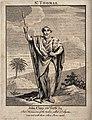 Saint Thomas. Engraving. Wellcome V0033090.jpg