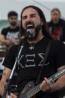 Sakis Tolis, Rotting Christ, Barge to Hell 2012.jpg