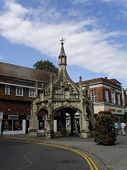 Salisbury, Market Cross - geograph.org.uk - 763900