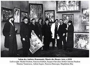 Scuola di rouen wikipedia for Salon des beaux arts
