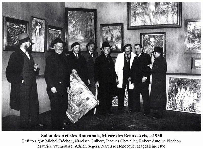 File salon des artistes rouennais mus e des beaux arts de for Salon des beaux arts