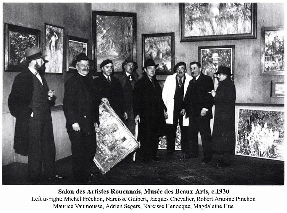Salon des Artistes Rouennais, Musée des Beaux-Arts de Rouen, c.1930