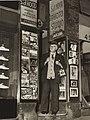 Sam Hood outside his Dalny Studios, 124 Pitt Street, Sydney, 1953 - photographer Ted Hood (4382941931).jpg