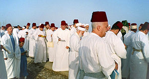 English: Samaritans on Mount Gerizim
