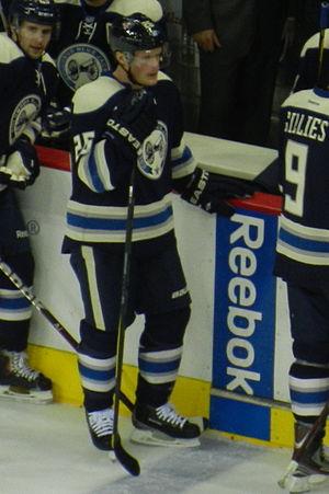 Samuel Påhlsson - Samuel Påhlsson with the Blue Jackets in the 2011–12 season.