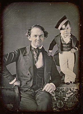 Samuel Root or Marcus Aurelius Root - P.T. Barnum and General Tom Thumb - Google Art Project-crop.jpg