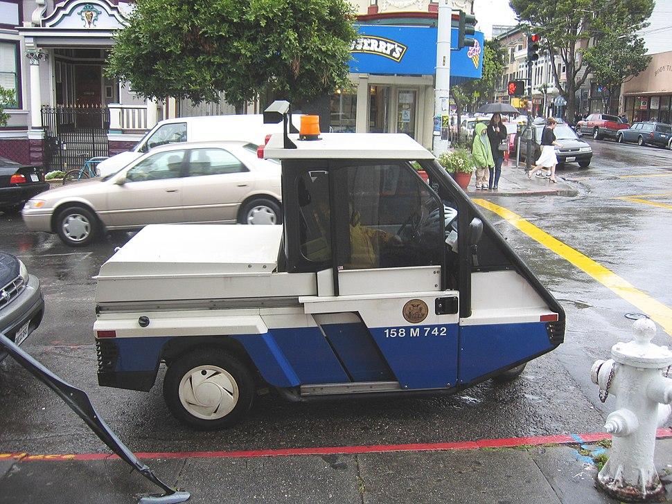San Francisco Parking Attendant Vehicle