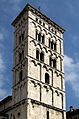 San Michele in Foro, bell tower, Lucca.jpg