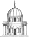 San Pietro in Montorio, from Serlio (Character of Renaissance Architecture).png
