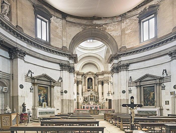 San Simeone Piccolo (Venice) - interior