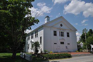 Town Hall (Sandwich, New Hampshire) historic building in Sandwich, New Hampshire, United States