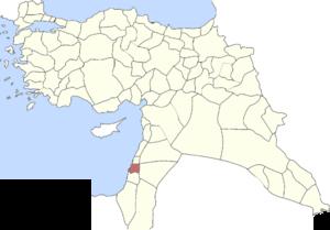 Acre Sanjak - Sanjak of Acre in 1914
