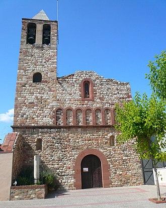 Montmeló - Image: Santa Maria de Montmeló