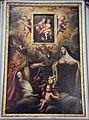 Santi di tito (attr.), Madonna col Bambino, e Michele Laschi, santi Agostino e Chiara, 1590 ca. 01.JPG