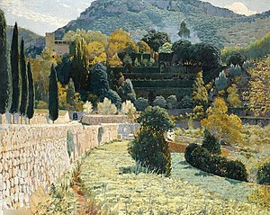 Terraced Garden in Mallorca, 1904