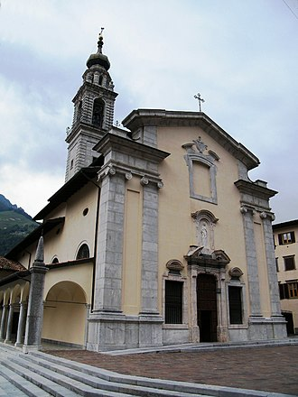 Ardesio - the Sanctuary Madonna delle Grazie.