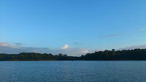 Sasthamcotta Lake - Image: Sasthamcotta Lake 1 by Arun Electra