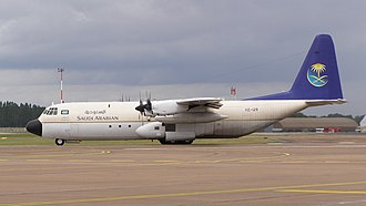Lockheed L-100 Hercules - Saudi L-100 in 2011