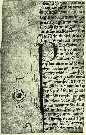 Kall-Rasmussen Fragment - Image: Saxo kallfrag 2 back 001