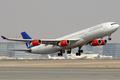 Scandinavian Airlines A340-300 LN-RKF DXB 2007-11-15.png
