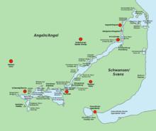 Haithabu Karte.Hedeby Wikipedia