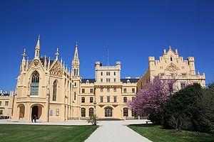 Lednice - Image: Schloss Lednice